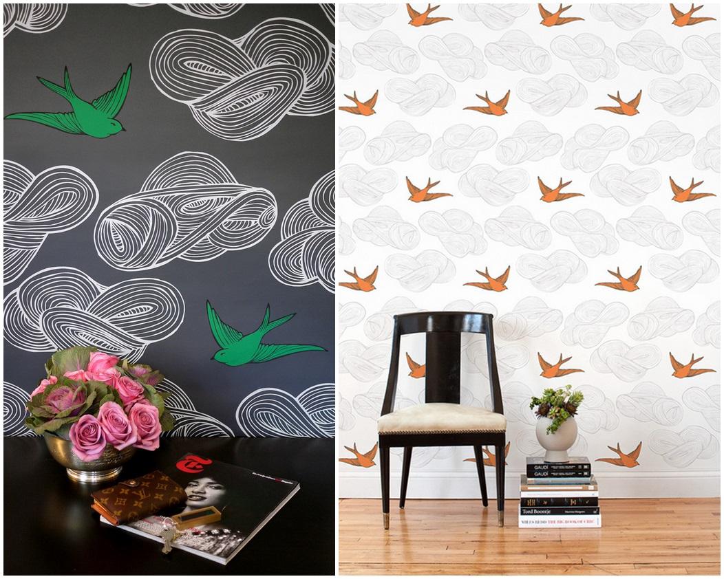 Julia Rothman_Daydream_Gray-Orange Tile