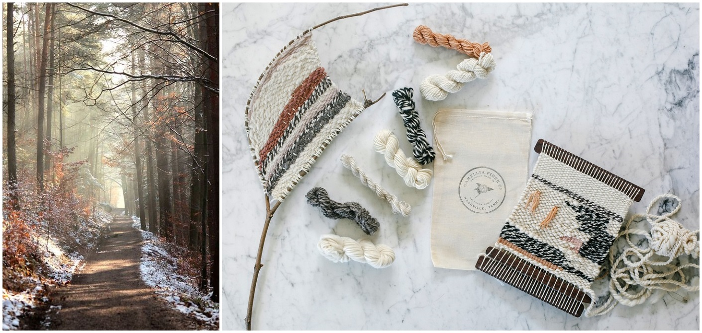 Winter Hiking and Crafting
