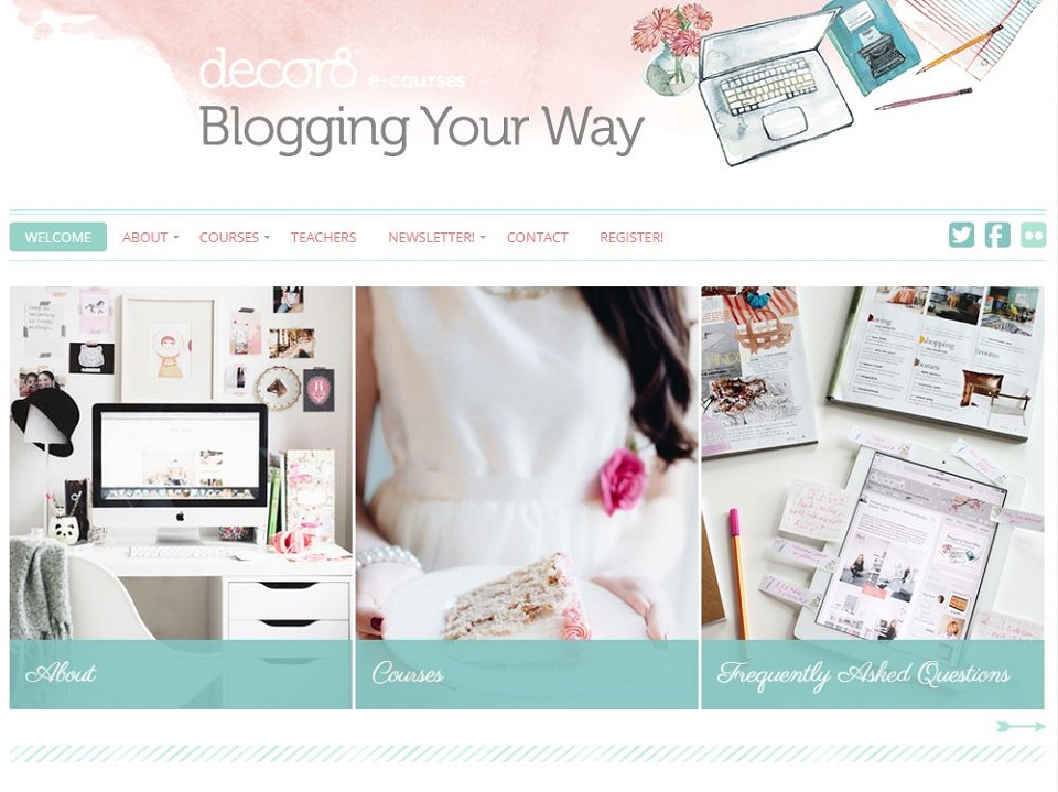 Blogging Your Way