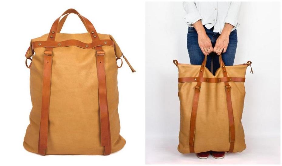 Boticca_Tall Weekender Bag_Camel-horz