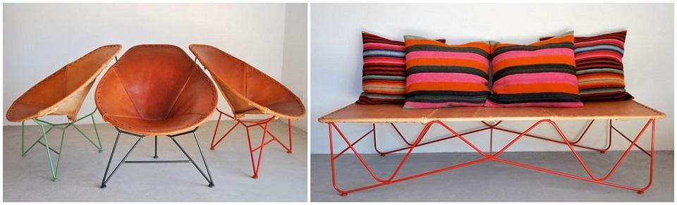 Garza Marfa_Saddle Leather Oval Chair-horz